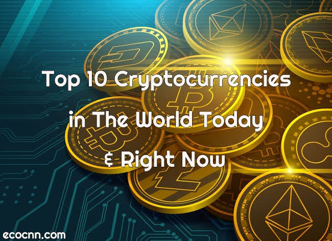 Top 10 Cryptocurrencies Today & Right Now 2021