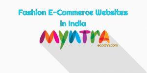 Fashion eCommerce websites in India