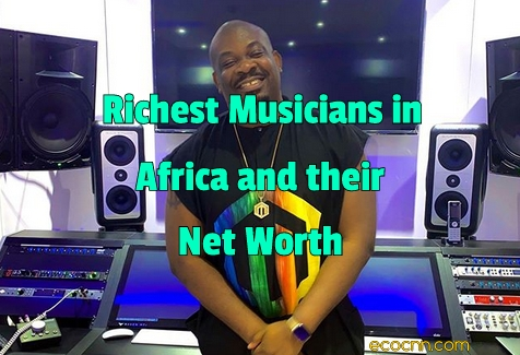 Richest musicians in Africa 2021 Forbes Top 10 List