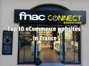 Top 10 ecommerce Websites and online shopping sites in France