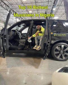 Top 10 richest musician in Nigeria 2021 Forbes list