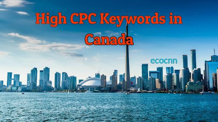 High CPC Keywords in Canada 2021 PDF List